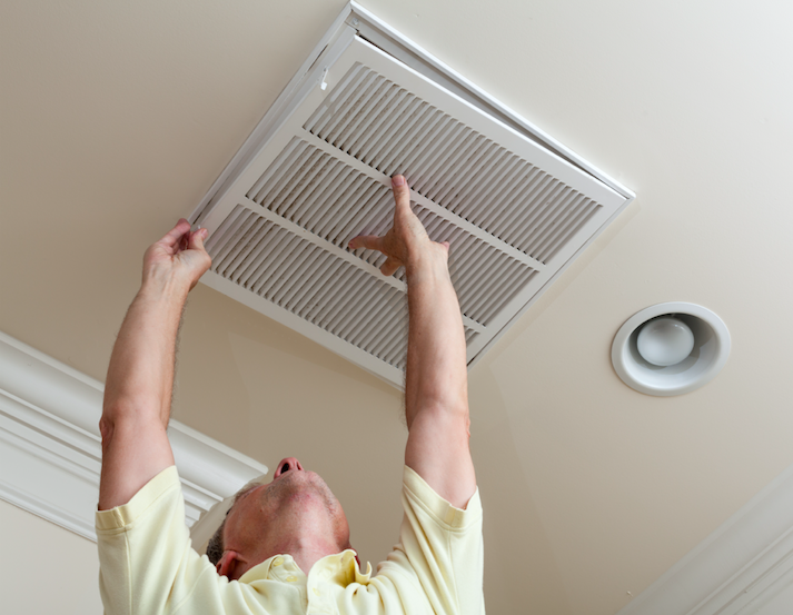 air rite heating and cooling replacing air filter